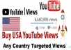 Add 1200 YouTube Views Real and Country Targeted