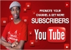 Add Real 200 Subcribers publicly on Youtube