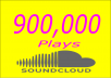 TOP QUALITY PLAYS RECEIVE 900,000+ SOUNDCLOUD PLAYS FOR  BEST DEAL ON THE WHOLE INTERNET.   WE SIMPLY GET THE JOB DONE OUR LEGIT WORK SPEAKS FOR IT'S SELF.  REAL WORLDWIDE PLAYS FROM PEOPLE THAT ARE ACTIVE DAILY NO BOTS.  WE REQUIRE A 1 TRACK MINIMUM AND 30 TRACKS MAXIMUM. TOTAL PLAYS WILL BE SPLIT UP BETWEEN THE TRACKS.  ALSO, ALL TRACKS MUST BE SUBMITTED AT THE START OF THE ORDER YOU CANNOT ADD MORE TRACKS ONCE YOUR ORDER HAS BEEN STARTED.   NEED LESS OR MORE???   PLEASE CHECK OUT MY OTHER  EXTRA SERVICES .