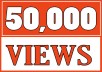 Add 50,000 YOUTUBE FAST VIEWS