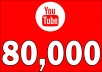 Add 80,000 YOUTUBE FAST VIEWS
