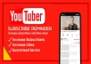 Add 200 YouTube Subscribe Very Fast Service