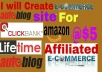 Get Amazon or Clickbank Autoposting site