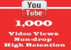 get 5000 youtube views very fast. i am level 3 seller active and trusted on gigbucks.com