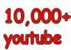 Hey, We will send 10,000 Youtube Views. Our Views Never Delete Or Drop Any Videos ( Money back guarantee )  High Quality Views Come Facebook , Twitter Etc.. NEVER get your video banned from YouTube 100 % Safe Views Long Watch Time NO Bot No Proxy 100% real and permanent Active Youtube Views  Non-Drop Views     If you need more YouTube likes, I can always provide more. Just order!  If You want to know something, Be free to Inbox me..