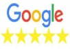 I will give your Google business page 2 unique manually posted reviews.
