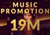 Promote Your Music to 19+ Million Intressted Member