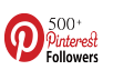 Add 500+ permanent PINTEREST followers to your account