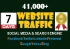 Send Real And Genuine Website Traffic