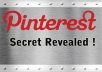 show you Pinterest marketing strategy+bonus to earn the big money