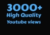 Get Instant 2000 to 3000 Retention YouTube Views