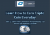 teach how to earn cripto coin everyday. Earn 55 dash every 4 minutes in autopilot
