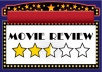 write catchy movie review for you