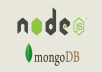 create web sites for you using Node.js and the databases also that the site need using SQL or NoSQL