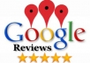 give you 2 five stars google review on your google business page
