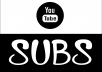 Add 2,000 YOUTUBE Subscribers