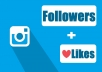 provide 4000 Instagram likes and 2000 Instagram followers