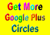 Add 400+ genuine Google followers to your plus profile