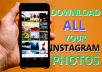 Backup all Instagram Content to the Cloud