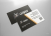 design your custom business cards for you