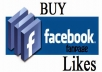 Give you 700 Facebook page like the