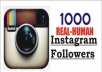 give 1000 Instagram Follower+ NON DROP