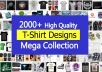 give Top 2000+ HQ editable T-Shirt design templates