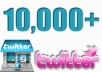 give you 10,000 twitter followers 100% Real & Non-Drop