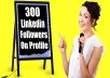 deliver 600 LinkedIn Followers