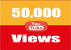 provide you high quality 50,000 YouTube Video views