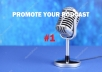 Advertise and promote your podcast from Thousands of Real Subscriber All Time Top Ranking service.