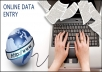do data entry and data entry analysis