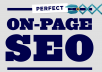 do Search Engine Friendly On-Page SEO