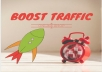 drive  6000 Human quality visits SEO  TRAFFIC  for any Link