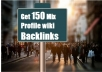give 150 Mix Profile wiki backlinks
