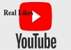 give you 750 youtube real likes