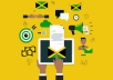 give an authentic Jamaican voice over