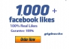 Add 1000+ Real FACEBOOK Likes