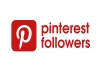 add you real 250 Pinterest followers within very short time