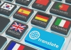 translate your files from english to spanish and romanian or vice versa