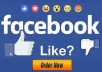 provide 5000 facebook post likes