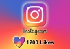 add 1200 INSTAGRAM likes