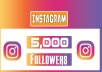 will provide you 5000+ Non Drop Instagram Followers .