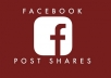 do 400 Facebook Shares for Post, Photo, Website, Blog or Video