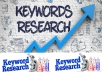 do SEO Keyword Research