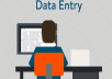 do simple data entry