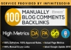 Do 100 Blog Commenting Backlinks For Google Ranking