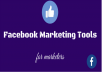 give you facebook marketing tools for marketing