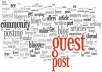 do guest post on website with dofollow link