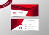 create a professional business card for you!